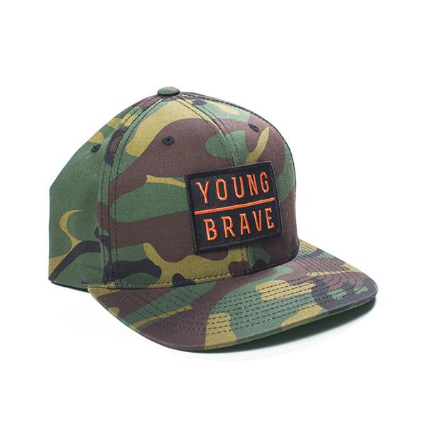 YB Hat Camo Orange