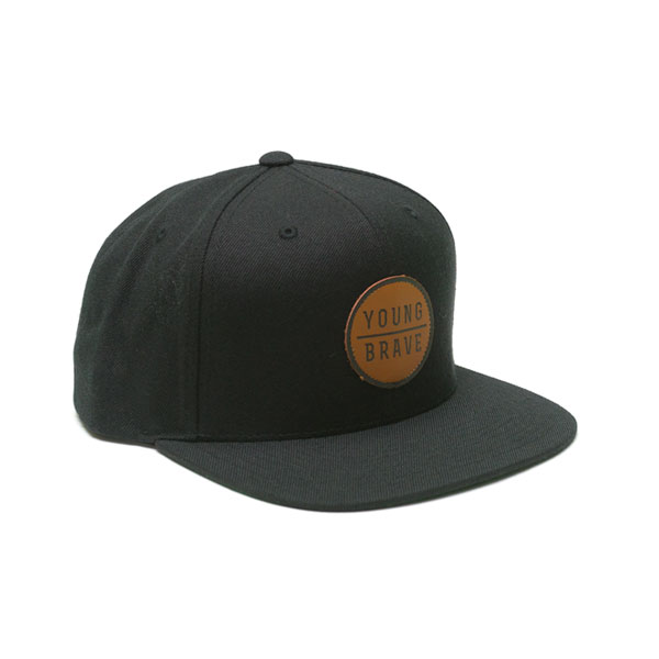 369cfe6ee Leather Patch Hat