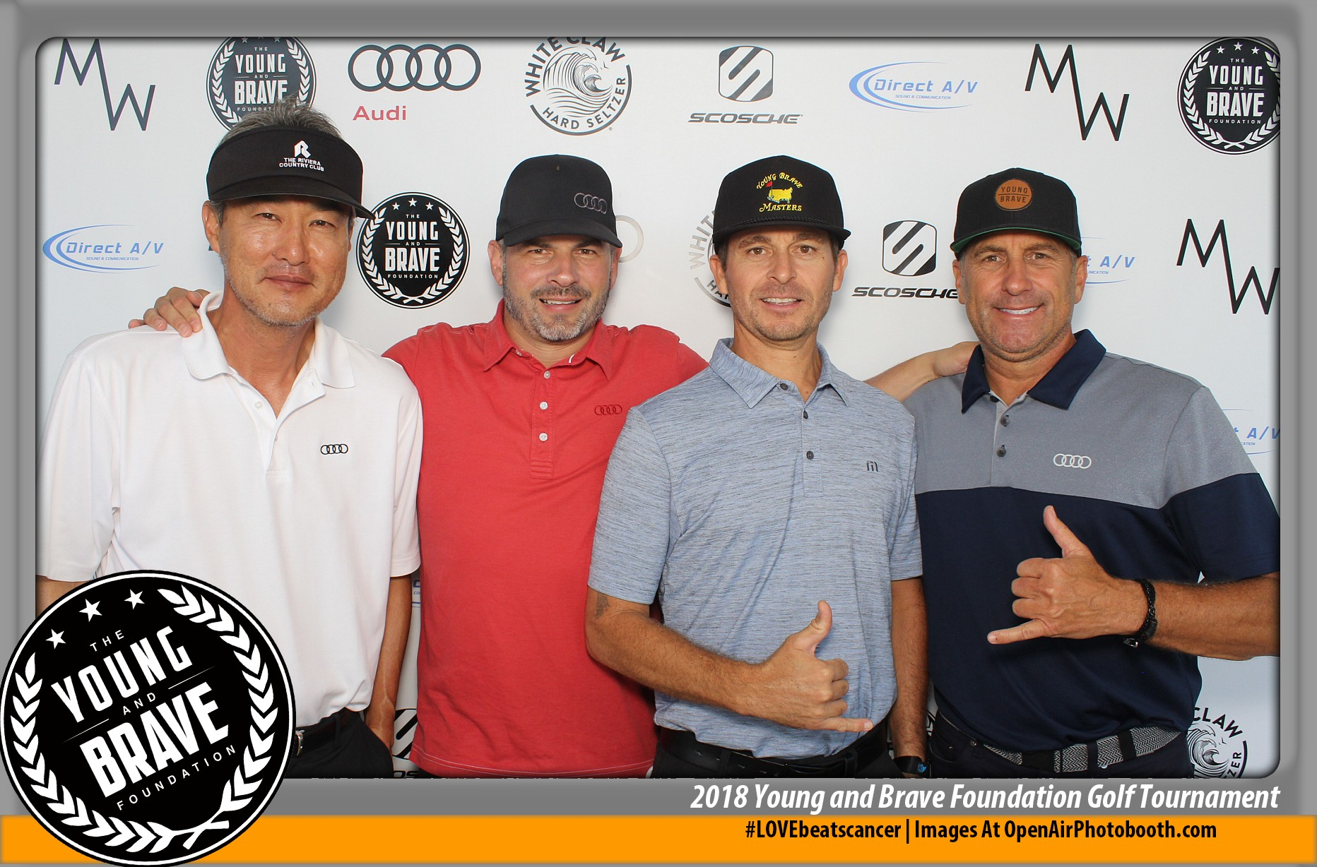 2018 Young and Brave Golf Tourney