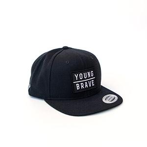 YB-6476_Snapback_Logo_Black